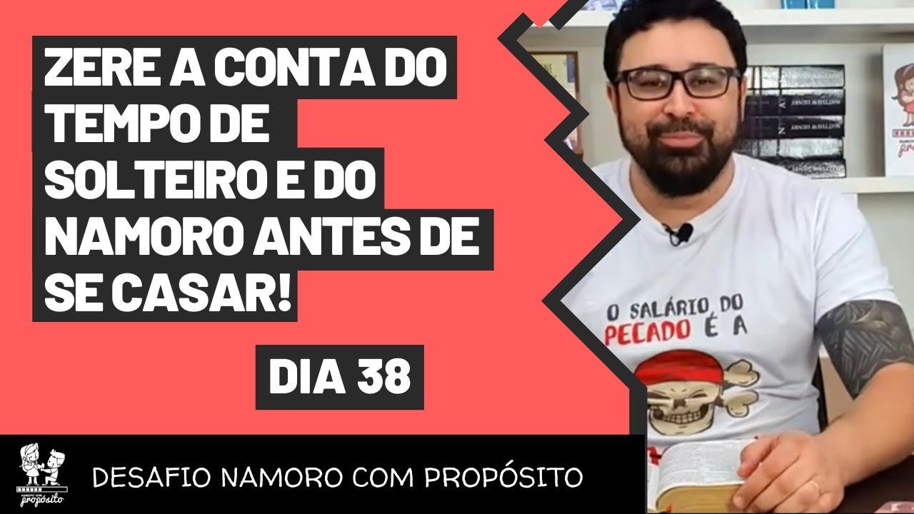 [ DesafioNCP - DIA 38] ZERE A CONTA DO TEMPO DE SOLTEIRO E DO NAMORO ANTES DE SE CASAR!