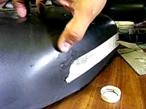 MOTORCYCLE VINYL SEAT REPAIR PART YouTube - Vinyl for motorcycle seat