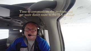 Double Alternator Failure in IMC with Live ATC