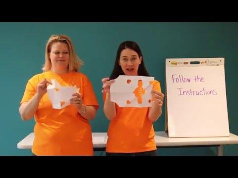 Classroom Creativity Exercise: Follow The Instructions