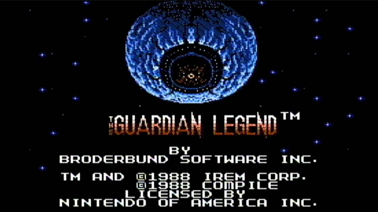 Retro The Guardian Legend Game Poster////NES Game Poster////Video Game Poster////Vinta