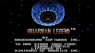 The Guardian Legend - NES Gameplay