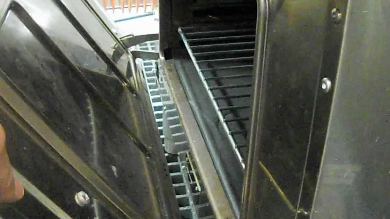 montare porta forno cottura - YouTube