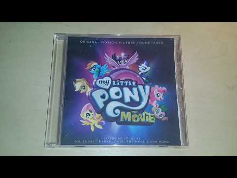MLP: The Movie - Official Motion Picture Soundtrack CD Unboxing [1080p]