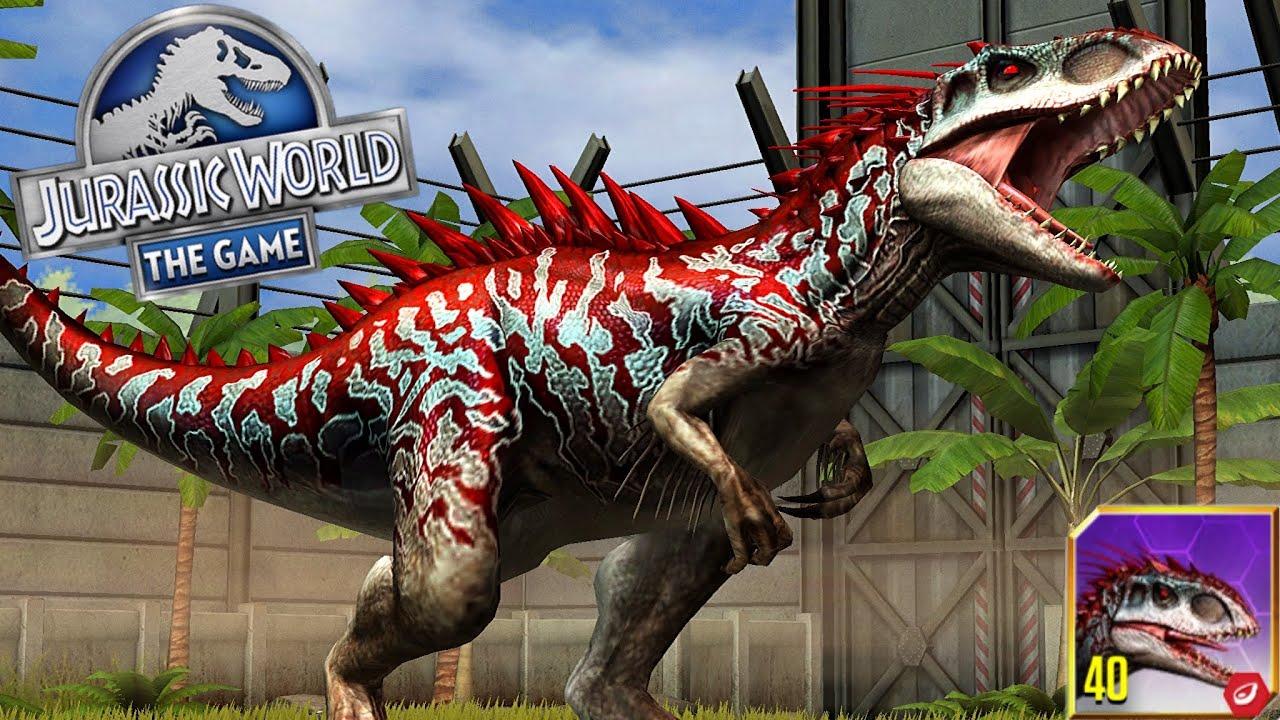 Jurassic World: The Game EP47 INDOMINUS REX LV MAX
