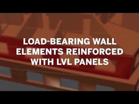 Talking Wood: Kerto LVL for load-bearing wooden walls