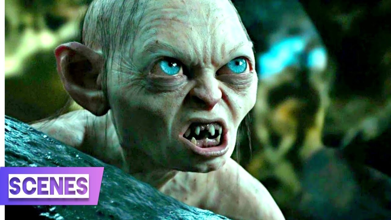 Download The Hobbit- An Unexpected Journey (9/13) - Riddles in the Dark Scene | Hindi Dubbed