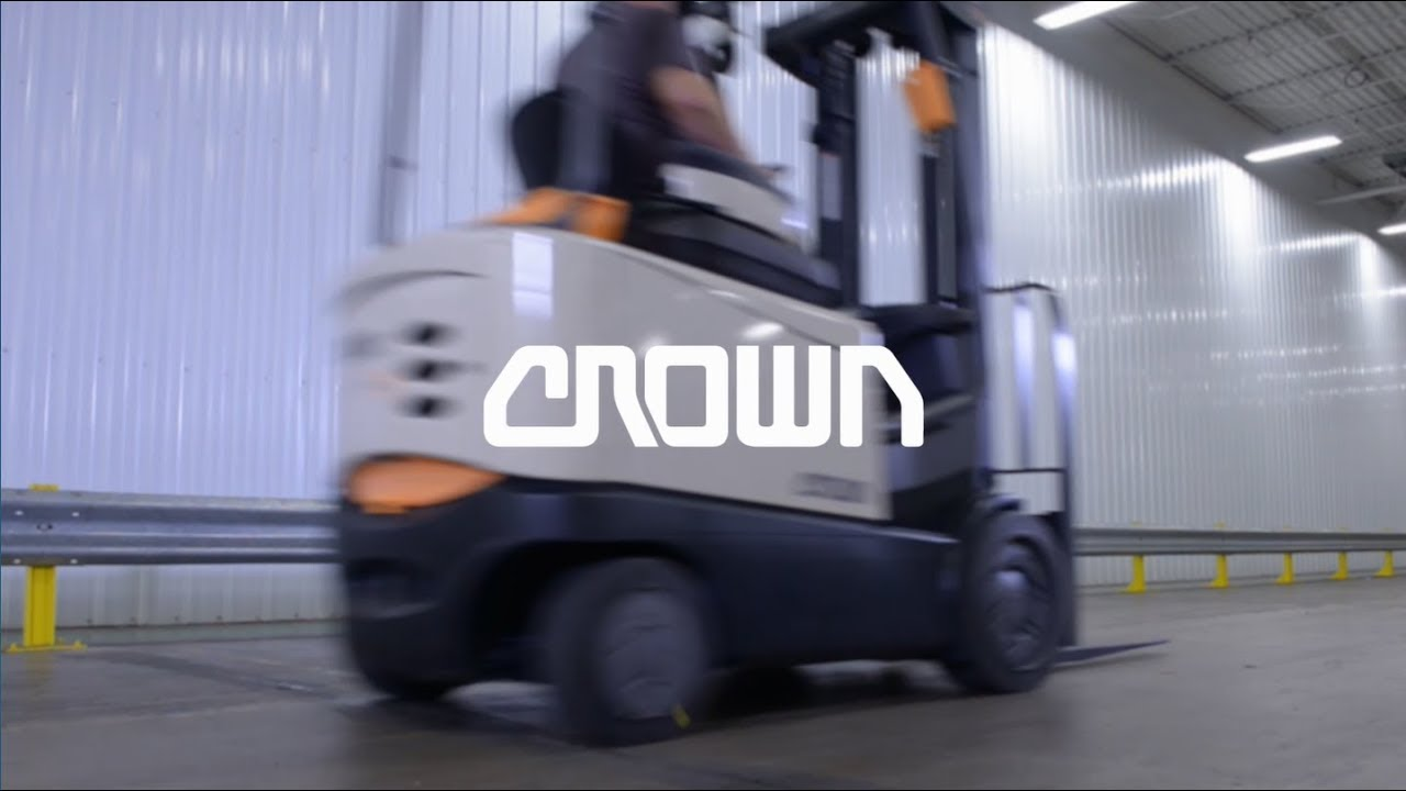 hight resolution of crown equipment defining the future of material handling