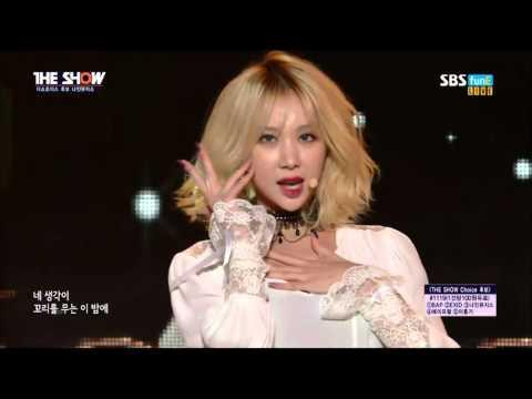 Nine Muses | Sleepless Night [live on SBS MTV The Show 151201]