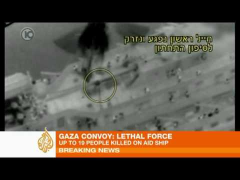 Storming of Gaza aid convoy
