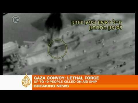 Storming Of Gaza Aid Convoy