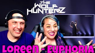 Loreen - Euphoria (Live Eurovision Song Contest) THE WOLF HUNTERZ Reactions