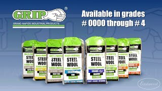 GRIP Steel Wool - Perfect for Auto Restoration and DIY Projects! Only The BEST from Eastwood!