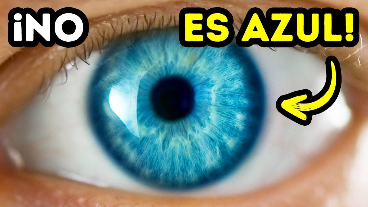 Por esto es que los ojos azules son solo una ilusión