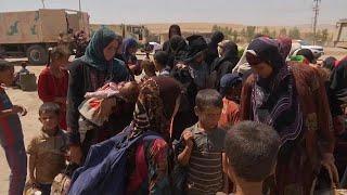 Мирные жители бегут из осажденного Талль Афара