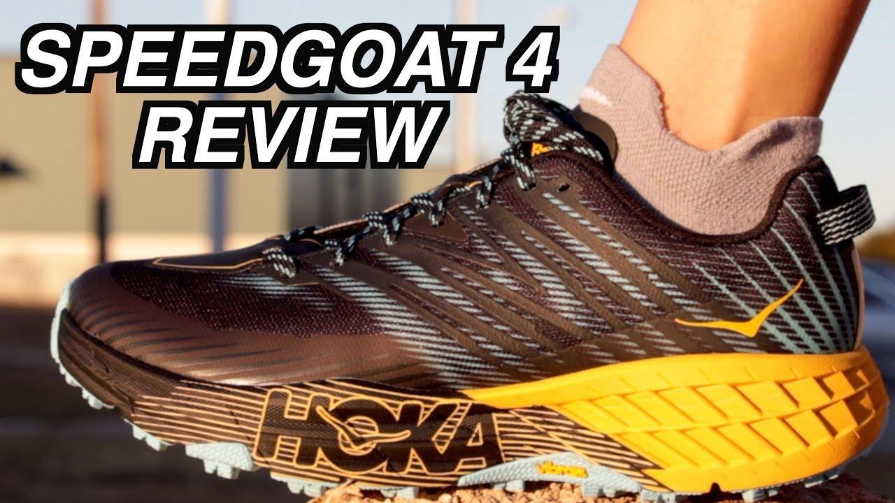 HOKA SPEEDGOAT 4 VS SPEEDGOAT 3 Review