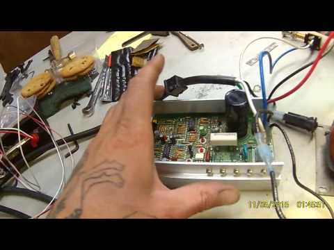 DC treadmill motor wiring conversion made simple, I hope.