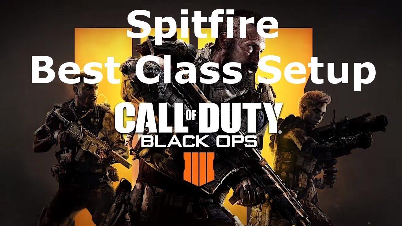 Spitfire Submachine Gun Best Class Setup Weapon Guide Call