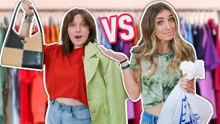 SiSTER vs SiSTER: Making Thrift Store Items Look Designer