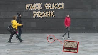 FAKE GUCCI PRANK! - Soziales Experiment!