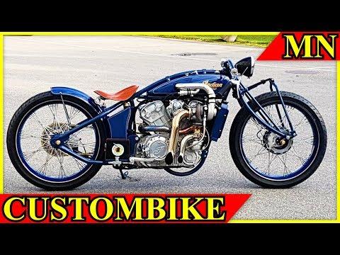 Custombike Indian Super Scout (mit Turbo) von Fullhouse Garage | Motorrad Nachrichten