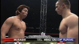 Musashi vs. Mirko CroCop - K-1 GP '99 FINAL