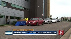 Metro Health Department giving out free masks Friday