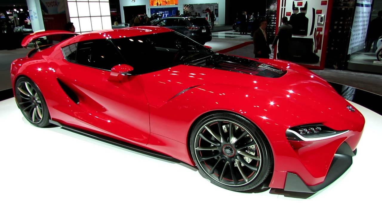 Toyota Supra New York Auto Show Difference Between