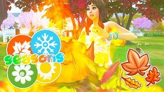SETTING LEAVES ON FIRE!🔥🍂 // THE SIMS 4 | SEASONS #18