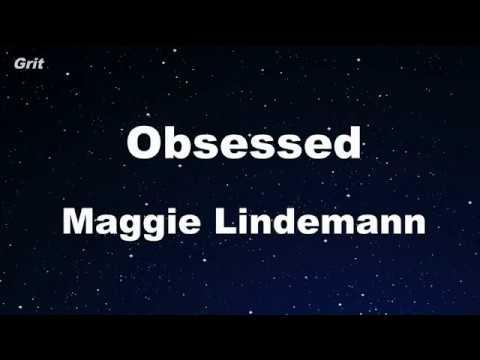Obsessed - Maggie Lindemann  Karaoke 【No Guide Melody】 Instrumental