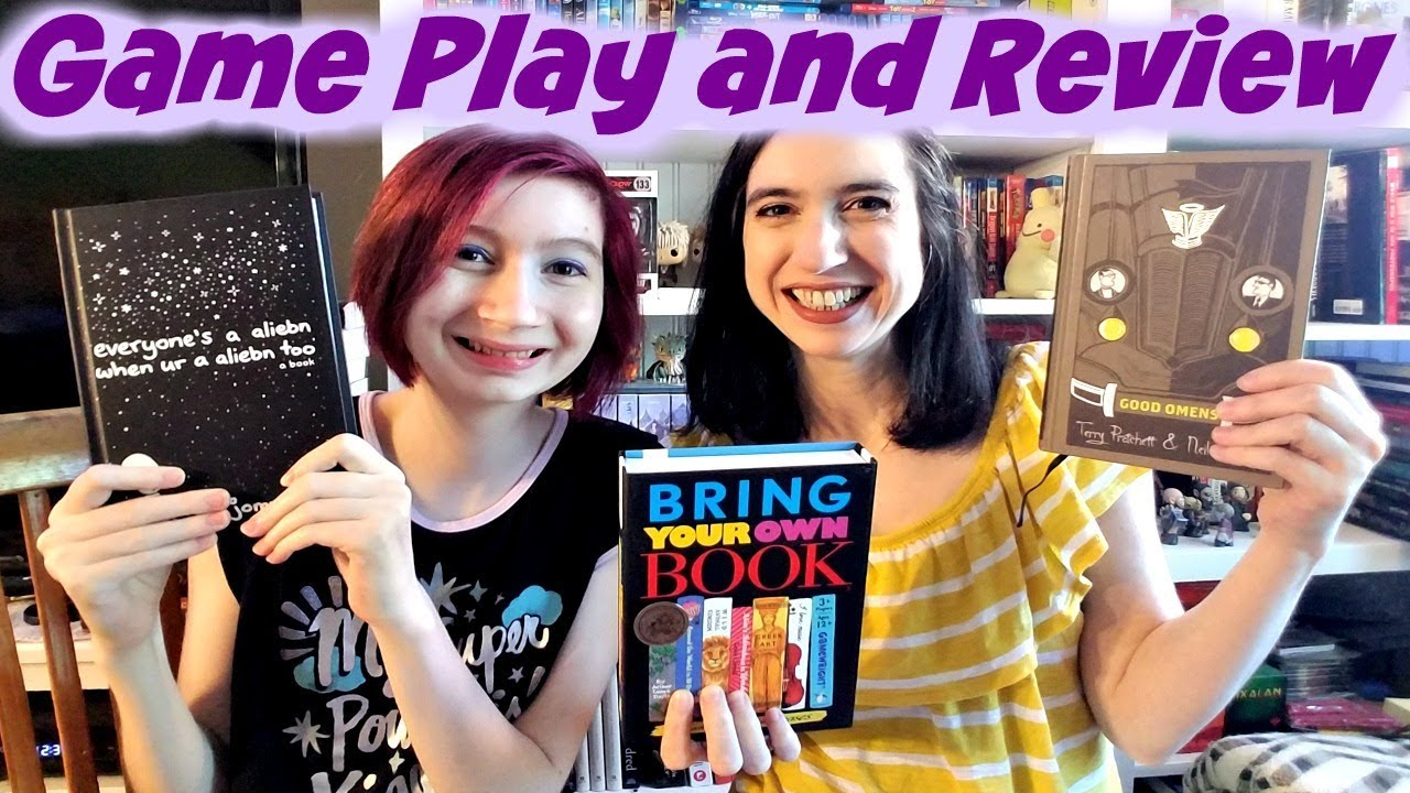 Play With Us Bring Your Own Book Game Youtube