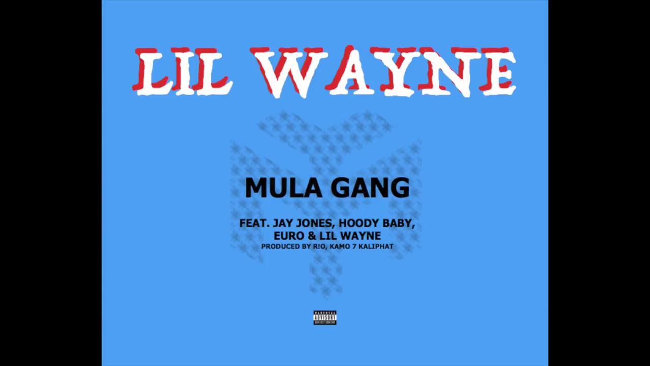 Lil Wayne.  Mula gang Ft Jay Jones, Hoody Baby,Euro
