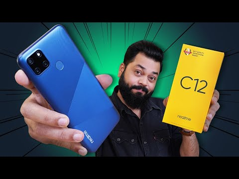 "realme C12 Unboxing & First Impressions ⚡⚡⚡ Another ""C"" In The Sea Of ""C"""