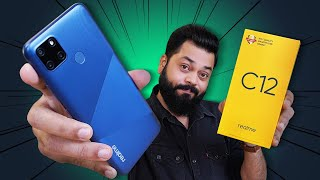 """realme C12 Unboxing & First Impressions ⚡⚡⚡ Another """"C"""" In The Sea Of """"C"""""""