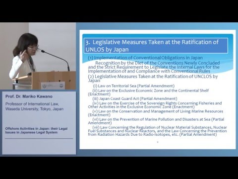 Offshore Activities in Japan: Their Legal Issues in Japanese Legal System