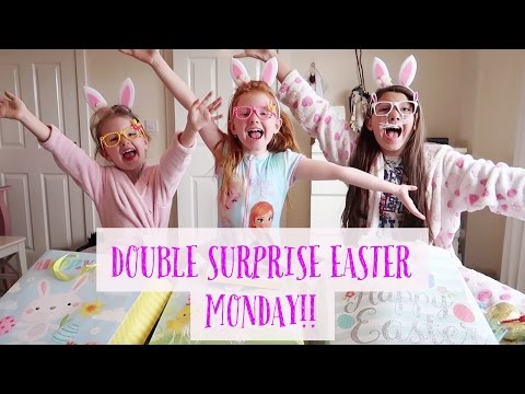 A DOUBLE SURPRISE EASTER MONDAY!!