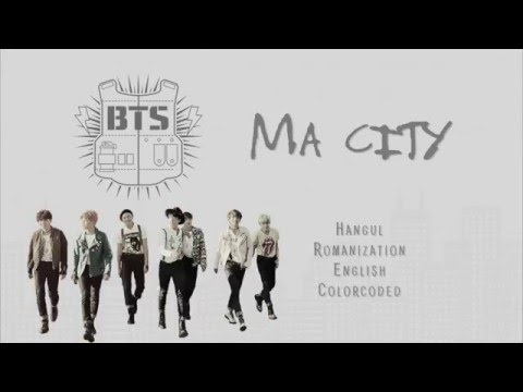 [UPDATED] BTS (방탄소년단) – MA CITY [Color coded Han|Rom|Eng lyrics]