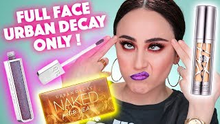 HORROR BASE 😳 FULL FACE USING ONLY URBAN DECAY | 🔥 High End MakeUp Reihe | Hatice Schmidt