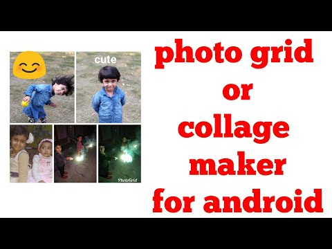 5 In 1 Image Photo Grid Maker On Android In 5 Minutes