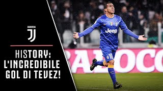 HIStory: L'INCREDIBILE GOL DI CARLITOS TEVEZ IN JUVENTUS-PARMA!