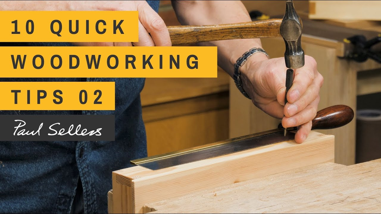 Download 10 Quick Woodworking Tips 02   Paul Sellers