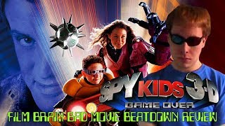 Bad Movie Beatdown: Spy Kids 3D - Game Over (REVIEW)