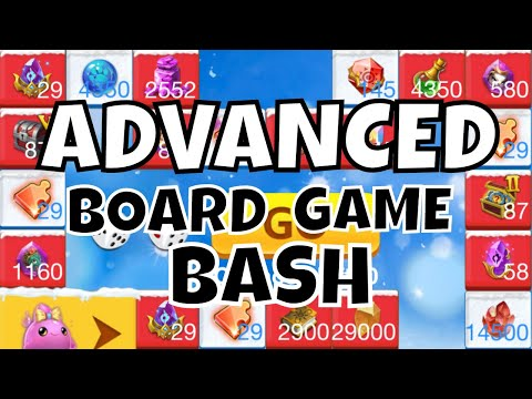 ADVANCED MODE Castle Clash Board Game Bash