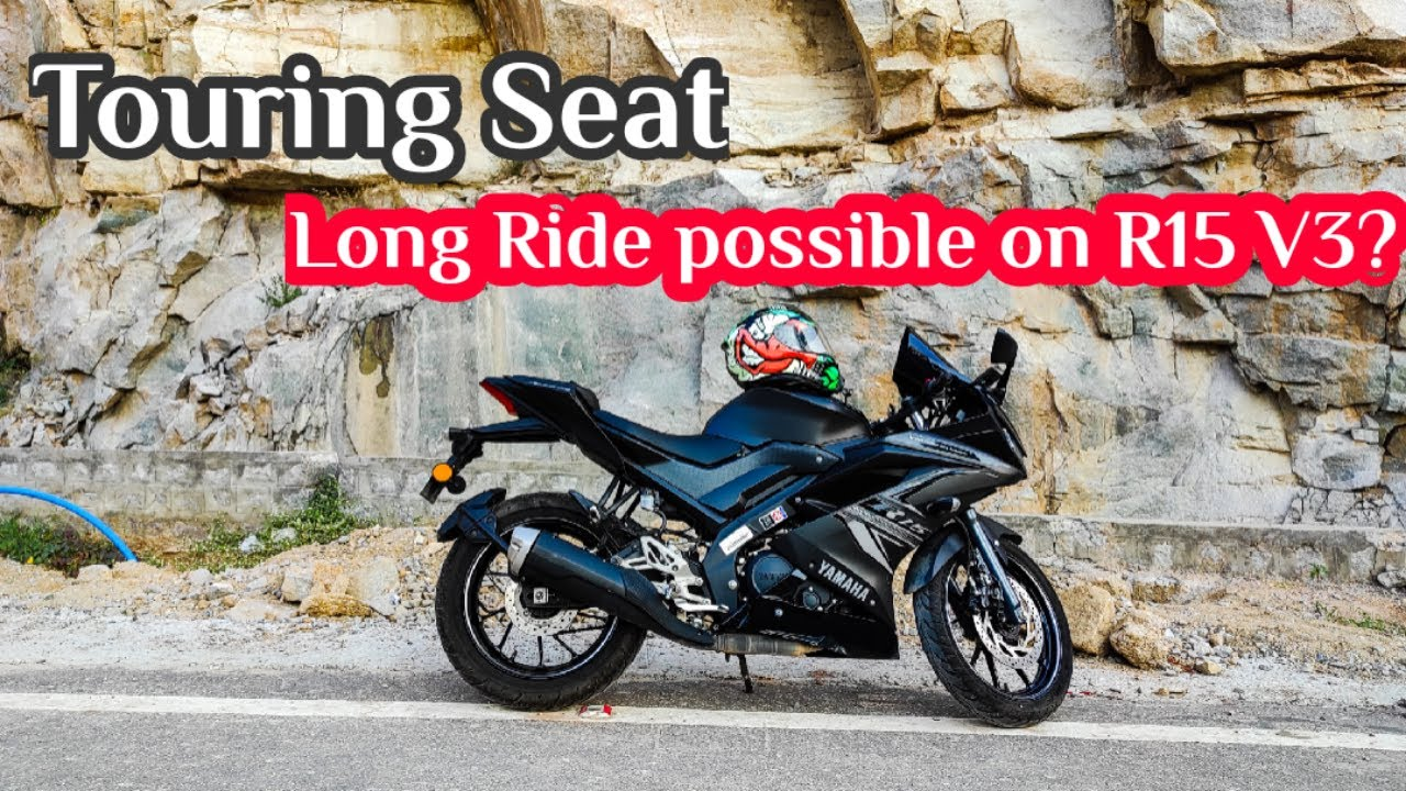 Yamaha R15 V3 BS6 is good for Long Rides?  Long Ride Experience on Yamaha R15 V3 2020   