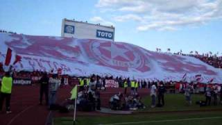 CSKA-Levski 0:2(09.05.2009 second half horeography)