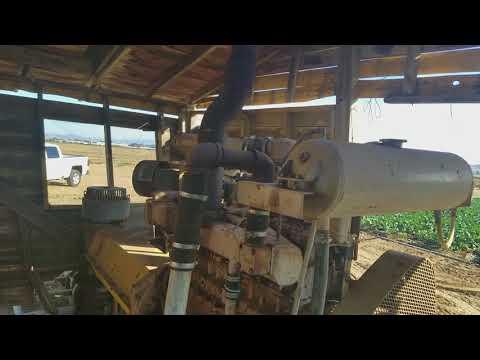 California 855 Cummins Natural Gas Engine Water Pump
