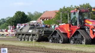 Traktorpulling Notzing 2012 Jaguar Panzer gegen CASE Steiger STX 440