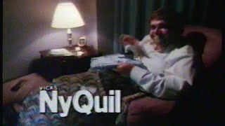 Vicks NyQuil Commercial, Jan 16 1987