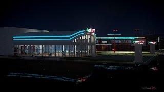 GTA 4 new TDU2 Audi  &  Italian Showroom