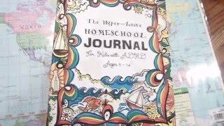 hyper active homeschool journal for kids with adhd ages 9 11